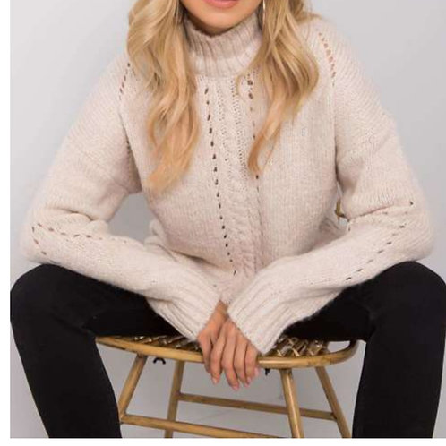 Sweater factory beige one size