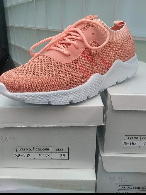 sneaker roze luchtig materiaal 37-38-39-41