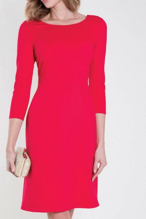 kleedje zaps rood met stikjes achteraan