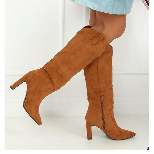camel boots FRieda daim