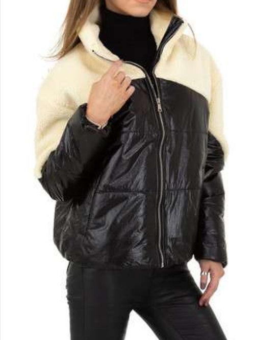 Bumber jacket 2 stoffen
