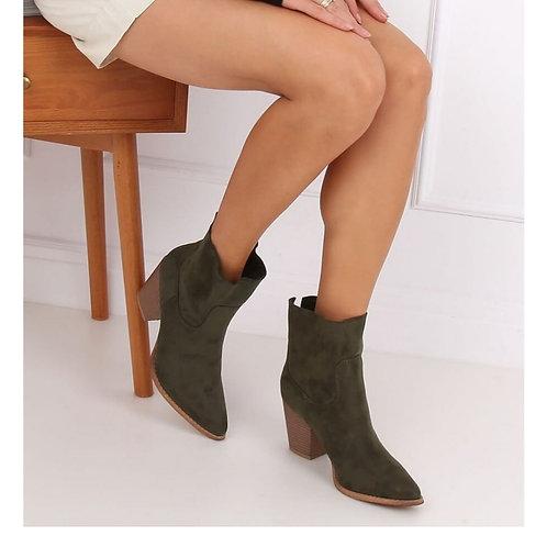 Korte boots khaki