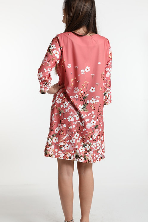 Shirt flower pink one size