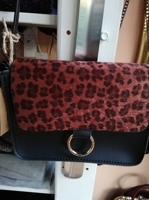tasje leopard print