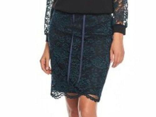 kanten rok Zaps blauwe/zwart