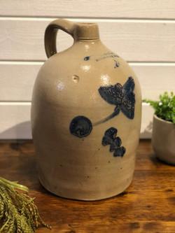 Cruche motif de fleur