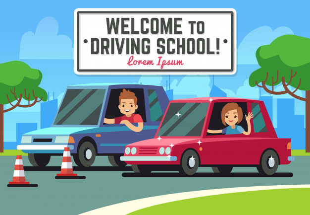 driving-school-vector-background_53562-3