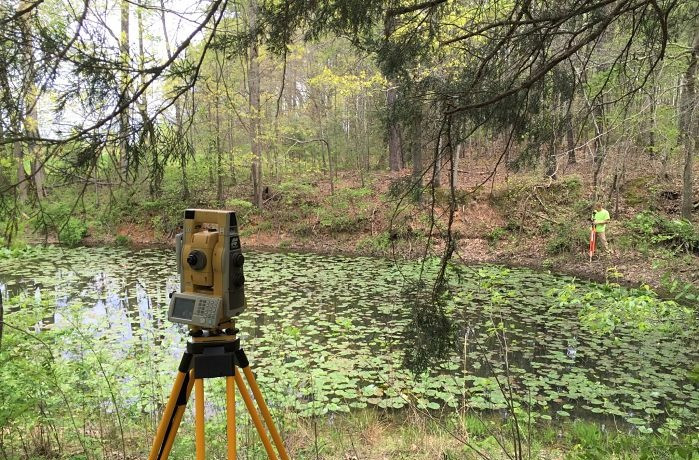 laser mapping, survey equipment, land survey