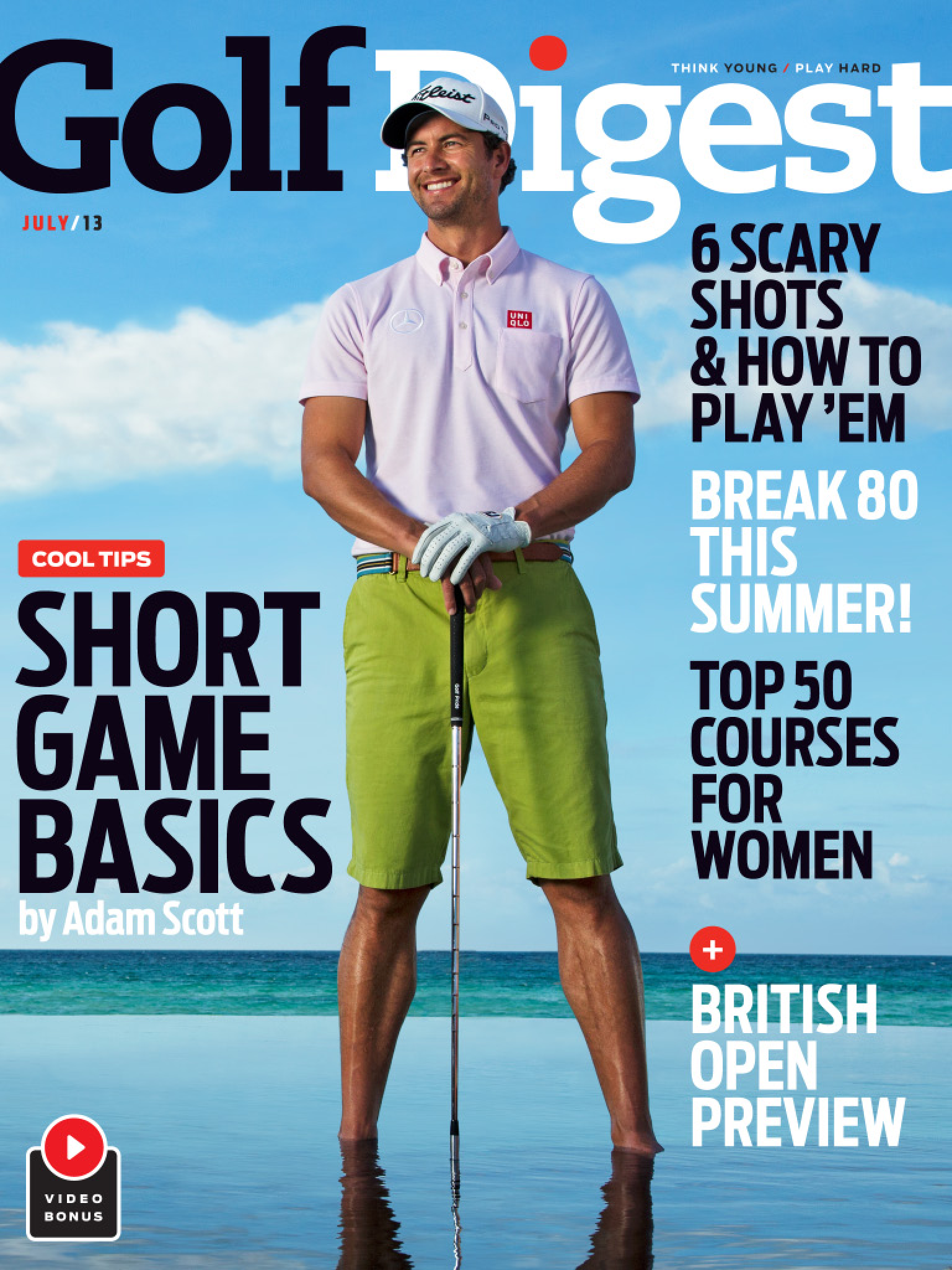 Adam Scott // Golf Digest