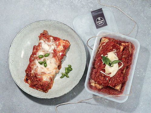 Meat Ragu Lasagna Portion 500g