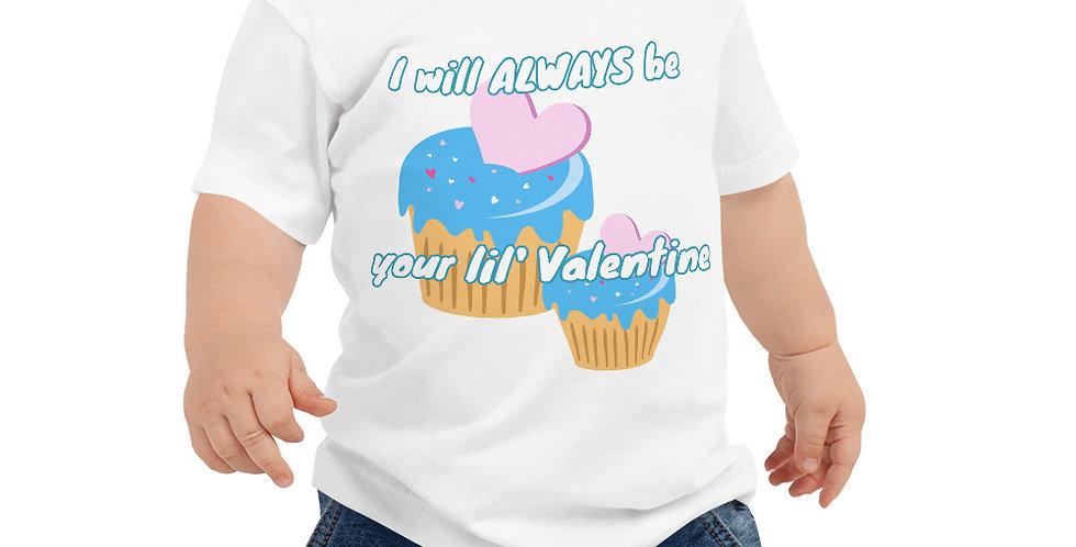 Always Be Your Valentine Baby Jersey Short Sleeve Tee