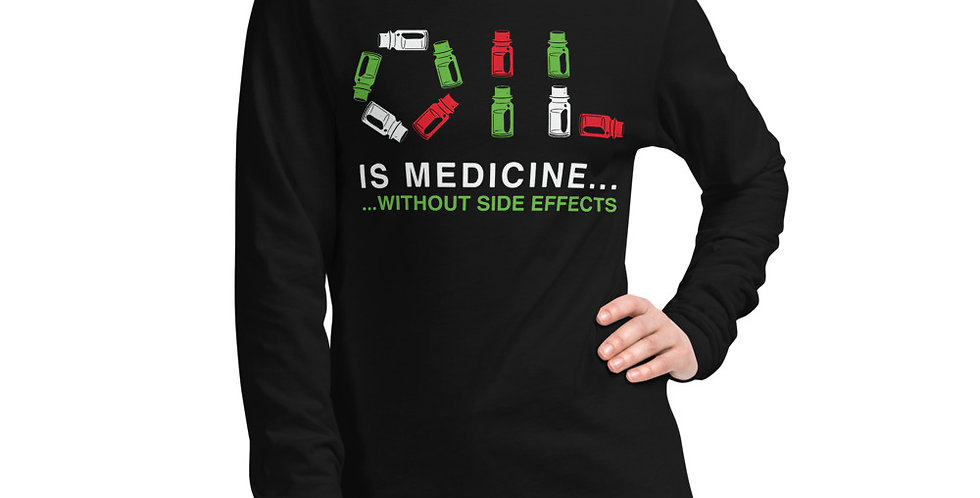 Oil Medicine Unisex Long Sleeve Tee