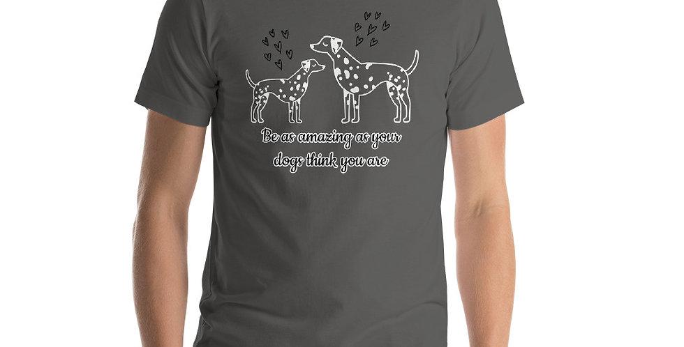 Be Amazing Short-Sleeve Unisex T-Shirt