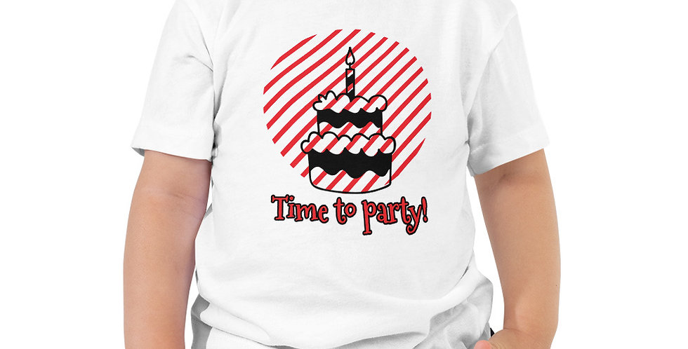 Party Toddler Short Sleeve Tee