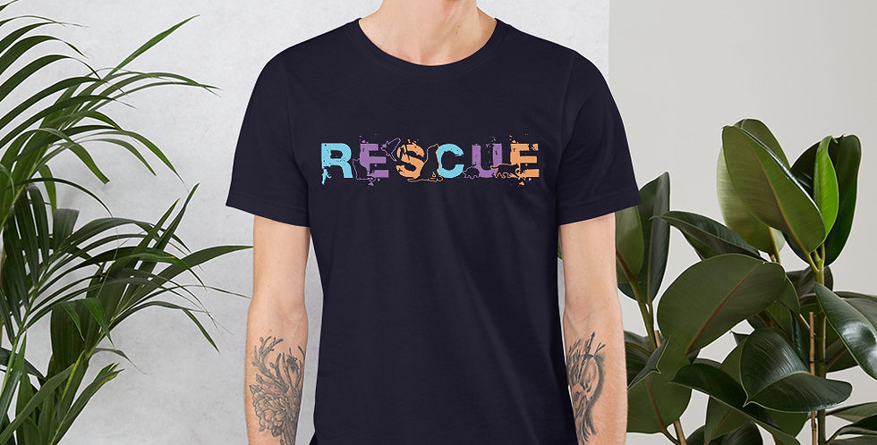 Rescue Animal Short-Sleeve Unisex T-Shirt