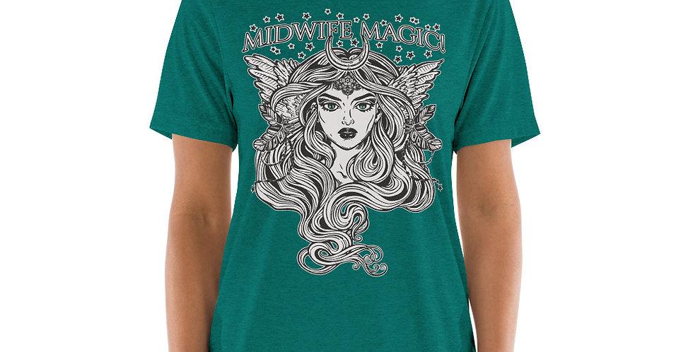Midwife Magic Tri-Blend Short sleeve t-shirt