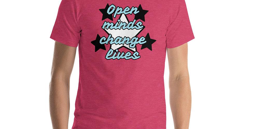 Open Minds Short-Sleeve Unisex T-Shirt