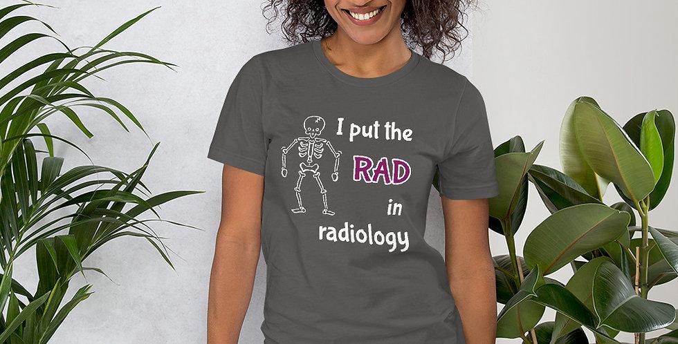 RADiology Short-Sleeve Unisex T-Shirt