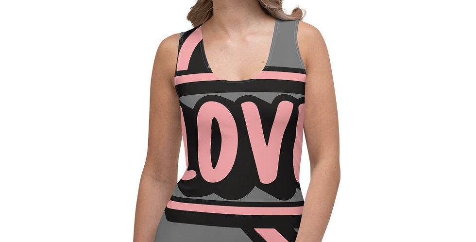 Love Oils All-Over print Sublimation Cut & Sew Tank Top