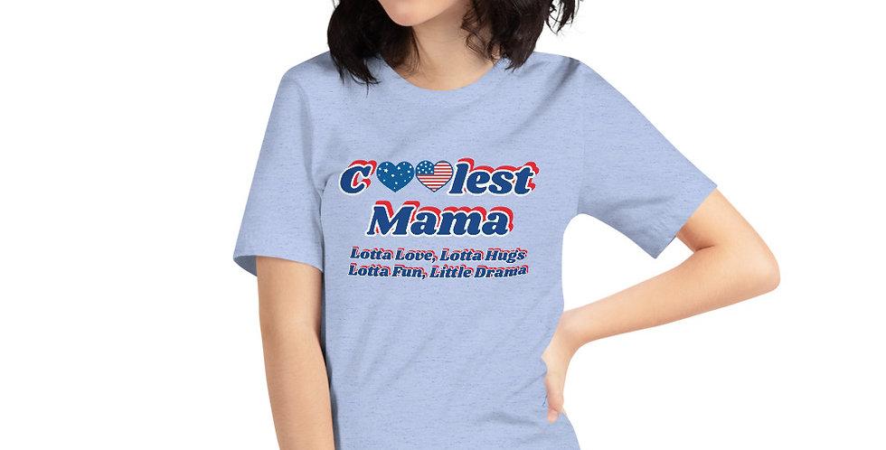 Coolest Mama Short-Sleeve Unisex T-Shirt