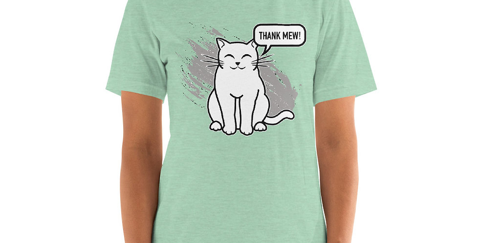Thank Mew Short-Sleeve Unisex T-Shirt
