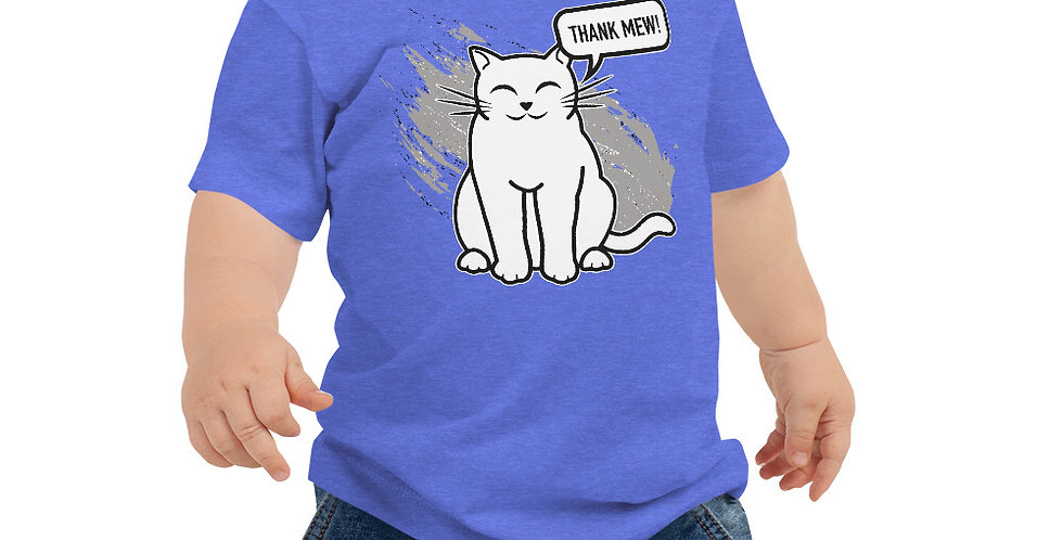 Thank Mew Baby Jersey Short Sleeve Tee