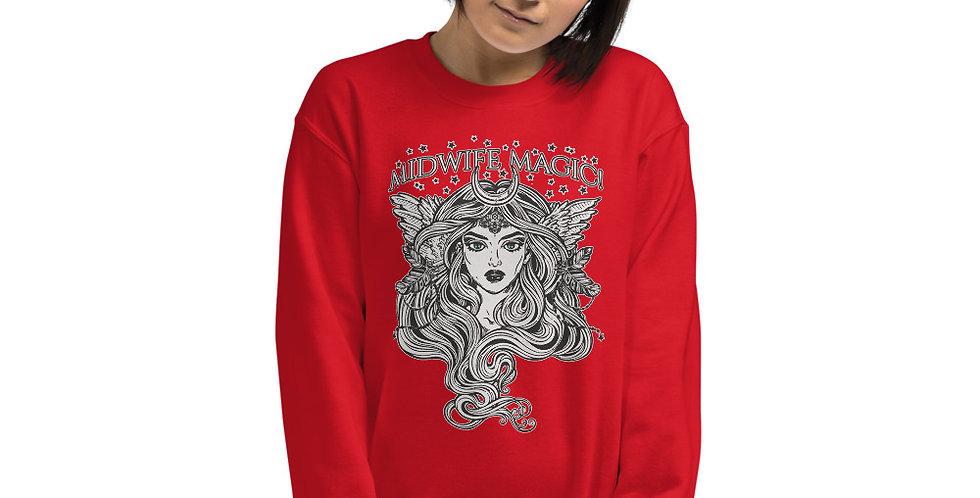 Midwife Magic Unisex Sweatshirt
