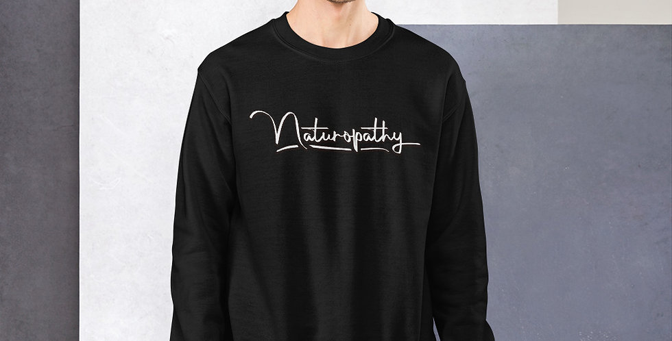 Naturopathy HSH DBL sided Unisex Sweatshirt
