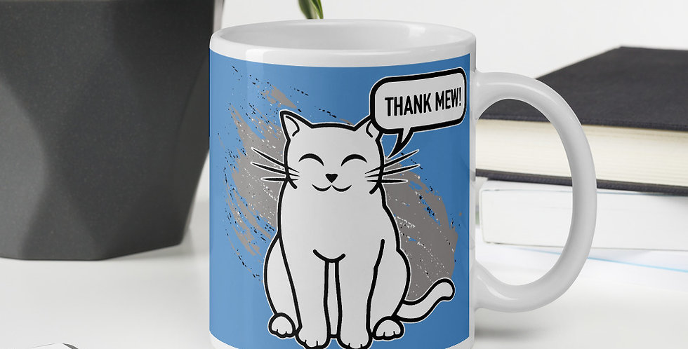 Thank Mew! Mug