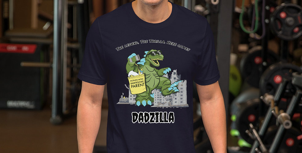 Dadzilla Short-Sleeve Unisex T-Shirt