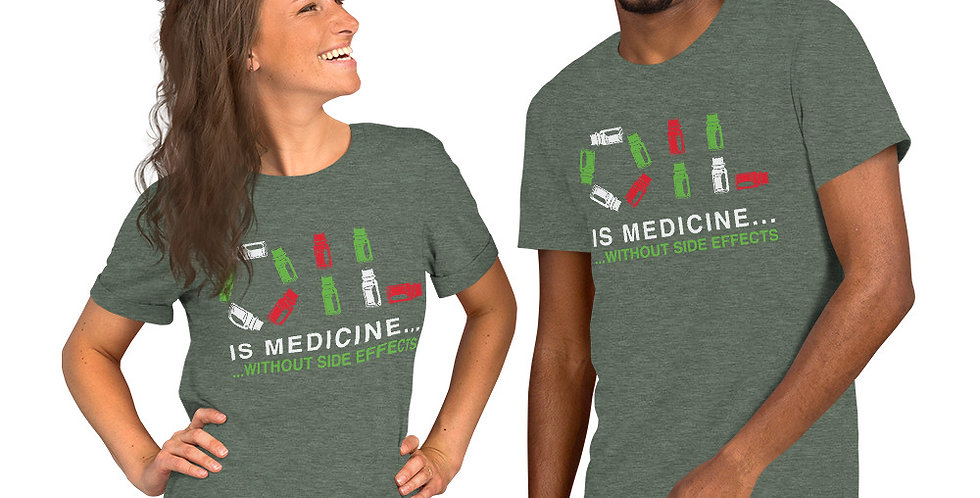 Oil Medicine Short-Sleeve Unisex T-Shirt