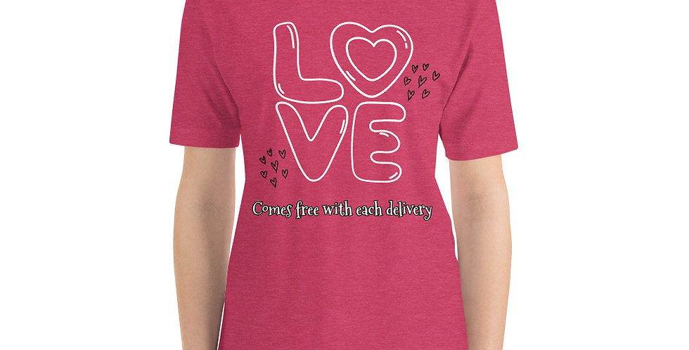 Love With Delivery Short-Sleeve Unisex T-Shirt