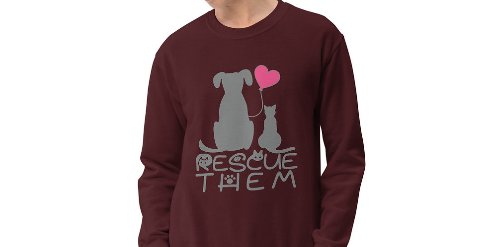 Rescue Them Unisex Sweatshirt