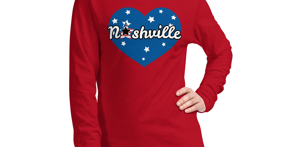Nashville Unisex Long Sleeve Tee
