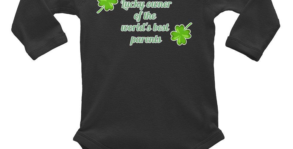 Lucky Owner Infant Long Sleeve Bodysuit