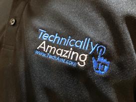 TechAmz Logo Polo Shirt