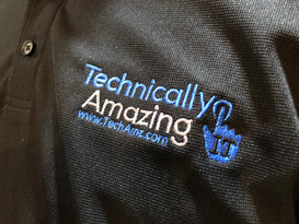 TechAmz Logo Polo Shirt