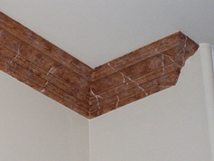 Faux Marble Stone Crown Molding