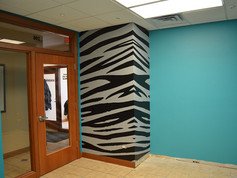 Salon Tiger Stripe Wall
