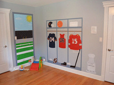 Chicago Sports Theme Nursery