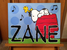 Canvas Name Painting