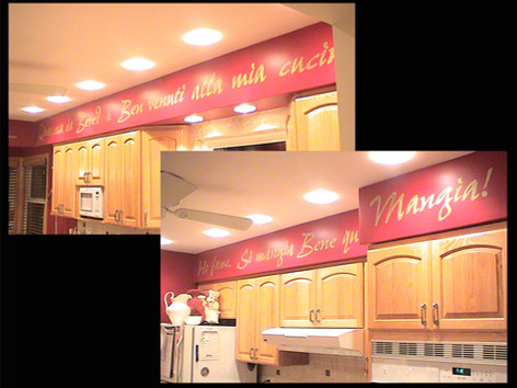 Kitchen Soffit Border