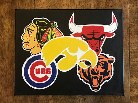 Sports Logo Painting