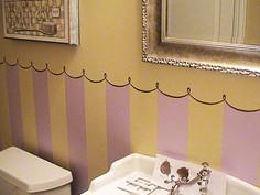 Powder Room Stripes