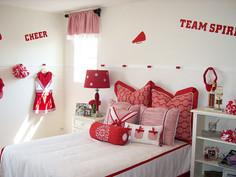 Cheerleading Theme Room