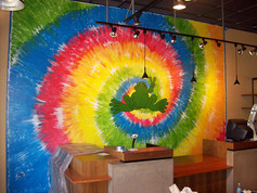 Peace Frog Store Mural