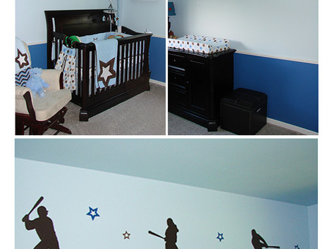 Baseball Them Nursery