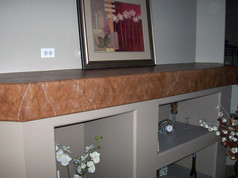 Faux Marble Stone Top