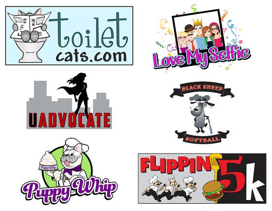 Cartoon Style Logos