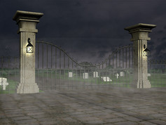 3D Graveyard Model